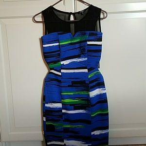 Xoxo dress with side cut outs